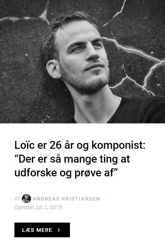 News: - LOIC DESTREMAU